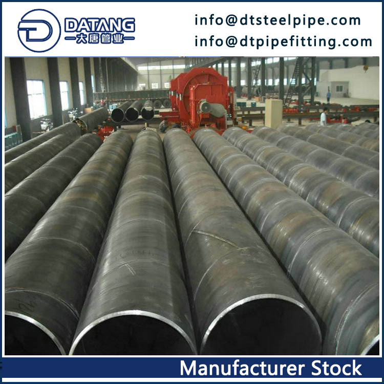 API 5L SSAW Steel Pipe, 24 Inch, WT 0.322