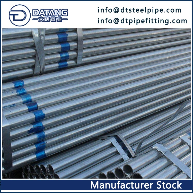 Hot-dip Galvanized Seamless Steel Pipe, O
